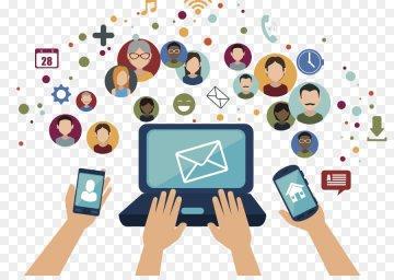 Раьота с социальными сетями